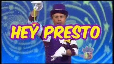 Hey Presto - Hi-5 - Season 12 Song of the Week