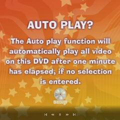 Auto Play Menu