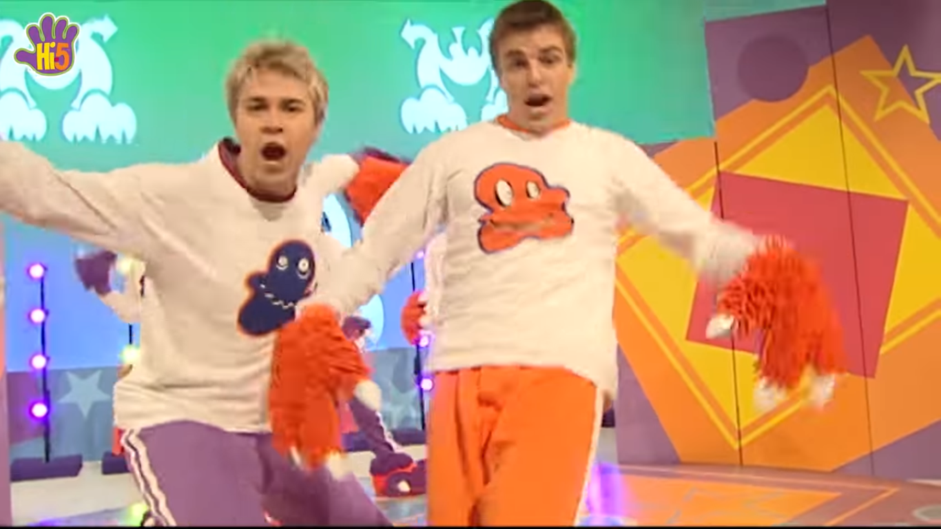 image boys happy monster dance png hi 5 tv wiki fandom powered