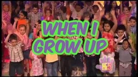 When I Grow Up - Hi-5 - Season 10 Song of the Week