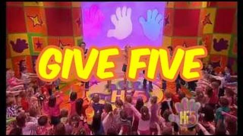 Give Five - Hi-5 - Season 5 Song of the Week