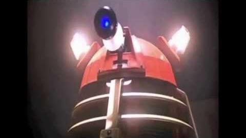 "The Daleks ""who gives santa presents?"""