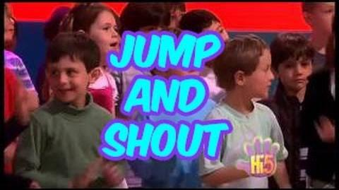 Jump and Shout - Hi-5 - Season 10 Song of the Week