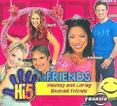 Hi-5 VCD Sharing And Caring & Unusual Friends