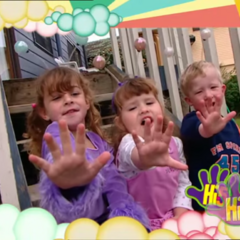 Frame For Children Series 10, Jump And Shout Week