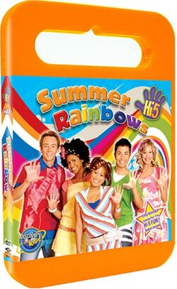Hi-5 USA Summer Rainbows dvd