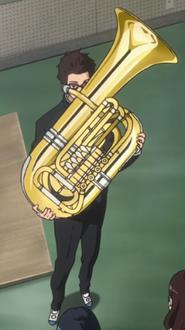Gotou and his Tuba