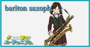 Baritone Sax Player