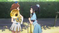 Kumiko and Azusa