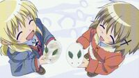 Hidamari Sketch Wikia - Season One (A Winter's Collage - 261)