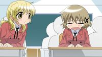Hidamari Sketch Wikia - Season One (A Winter's Collage - 090)