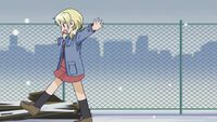 Hidamari Sketch Wikia - Season One (A Winter's Collage - 192)