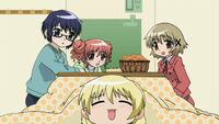 Hidamari Sketch Wikia - Season One (A Winter's Collage - 244)