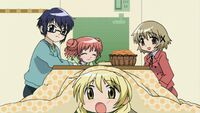 Hidamari Sketch Wikia - Season One (A Winter's Collage - 246)