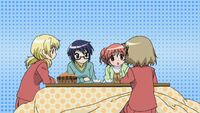 Hidamari Sketch Wikia - Season One (A Winter's Collage - 293)
