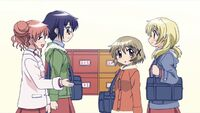 Hidamari Sketch Wikia - Season One (A Winter's Collage - 063)