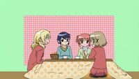Hidamari Sketch Wikia - Season One (A Winter's Collage - 326)