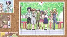 Kawasemi Park group photo