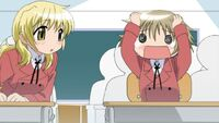 Hidamari Sketch Wikia - Season One (A Winter's Collage - 091)