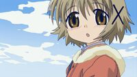 Hidamari Sketch Wikia - Season One (A Winter's Collage - 056)
