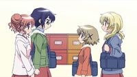 Hidamari Sketch Wikia - Season One (A Winter's Collage - 061)