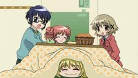 Hidamari Sketch Wikia - Season One (A Winter's Collage - 245)