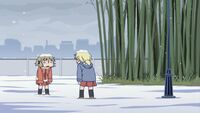 Hidamari Sketch Wikia - Season One (A Winter's Collage - 216)