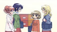 Hidamari Sketch Wikia - Season One (A Winter's Collage - 064)