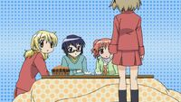 Hidamari Sketch Wikia - Season One (A Winter's Collage - 294)