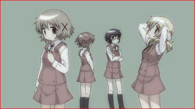 File:Hidamari Sketch Wikia - Season One Ending Scene B.JPG