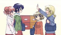 Hidamari Sketch Wikia - Season One (A Winter's Collage - 062)
