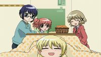 Hidamari Sketch Wikia - Season One (A Winter's Collage - 243)
