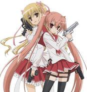 Aria H. Kanzaki & Riko Mine