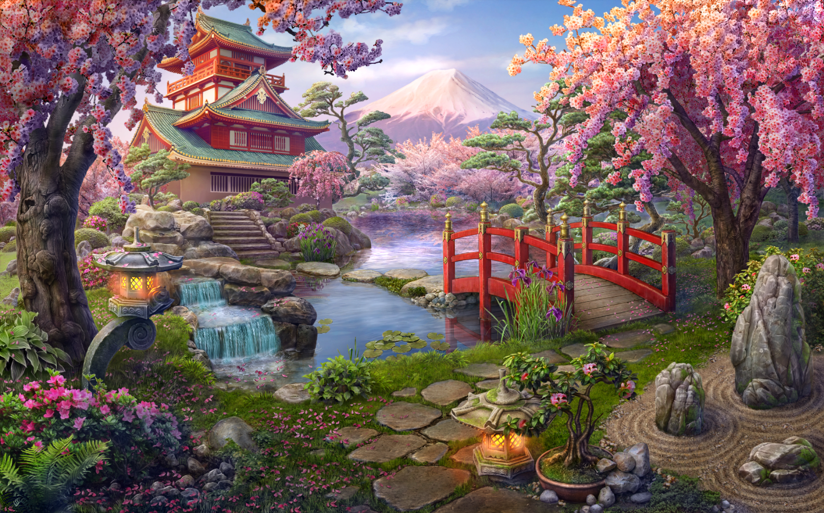Japanese Garden Hidden City Mystery Of Shadows Wiki Fandom