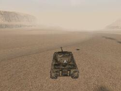 Panzer VI Tiger back seat (Daiburn 2)
