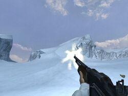 M1918 BAR firing (Iceberg)