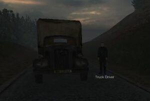 Truck and truck driver (Liptakov)
