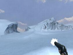 Colt M1911 firing (Iceberg)