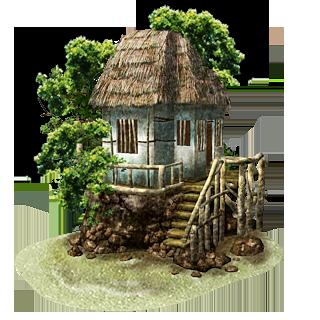 Living Room Island Beach Hut