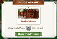 Scene unlcoked Tsarinas room