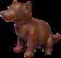 HO ConqC Dog Figurine-icon