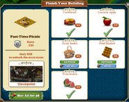 Marketplace Past-Time Picnic-info