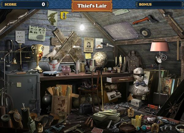 Scene Thief's Lair-Screenshot