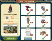 Questitem Turquoise Pagoda-info