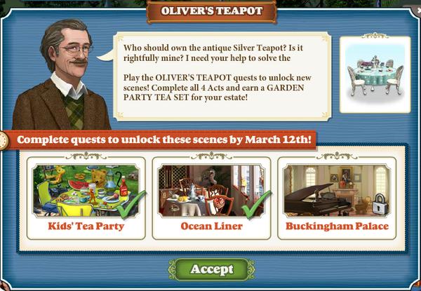 Quest Oliver's Teapot-Screenshot