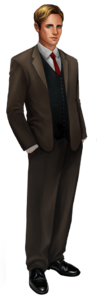 Character Rex Friendly