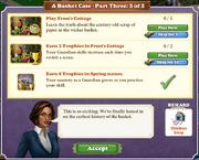 Quest A Basket Case-Part Three 5-Tasks