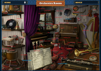 Scene Orchestra Room-Map