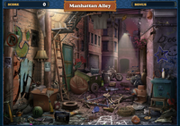 Scene Manhattan Alley-Screenshot