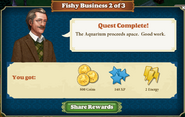 Quest Fishy Business 2-Rewards